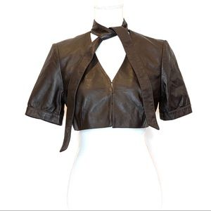 ARDEN B | Leather Shrug